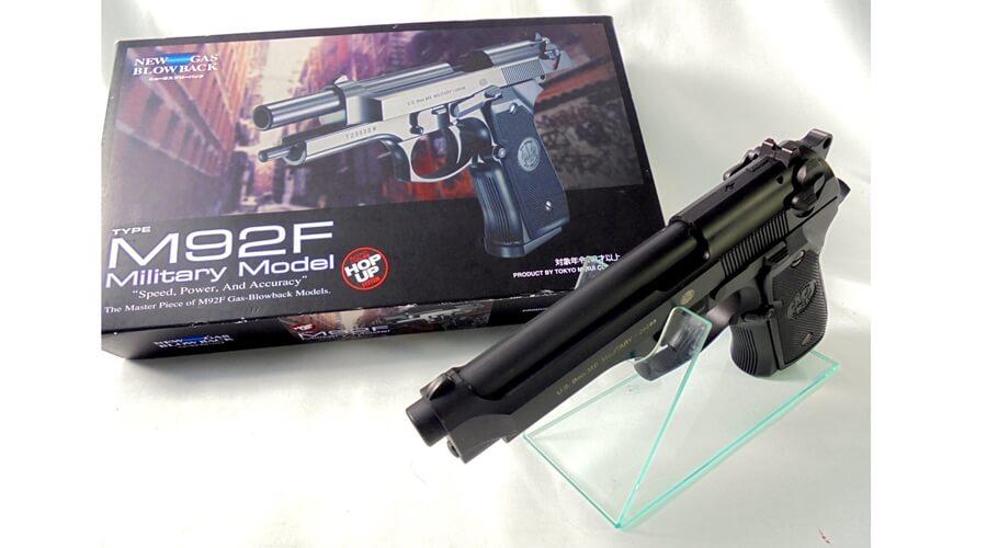 東京マルイ M92F ミリタリーモデルをご紹介