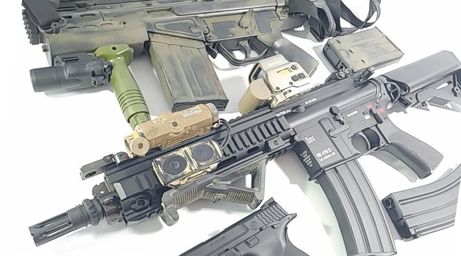 愛知県豊川市より東京マルイ G3SASカスタム  HK416D 【買取参考価格 合計35,000円】をお買取させていただきました